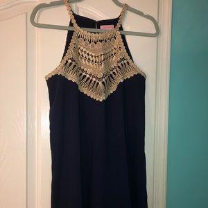 Lily Pulitzer pearl soft shift dress.